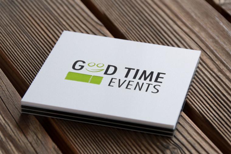 Good Time Events - Logodesign, Logogestaltung, Logoerstellung