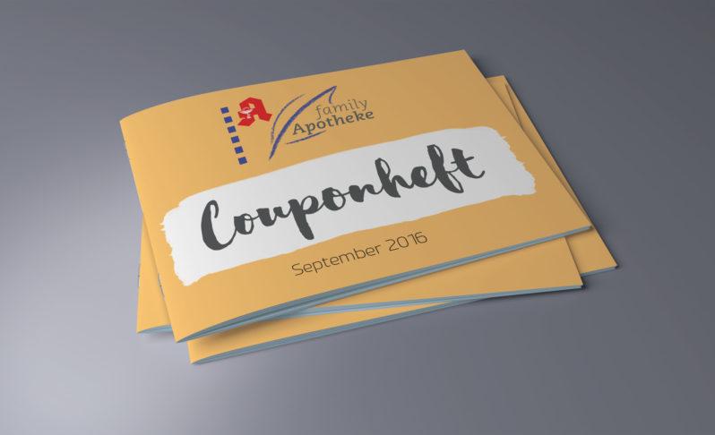 family Apotheke Couponheft - Gutscheinheft DIN A7
