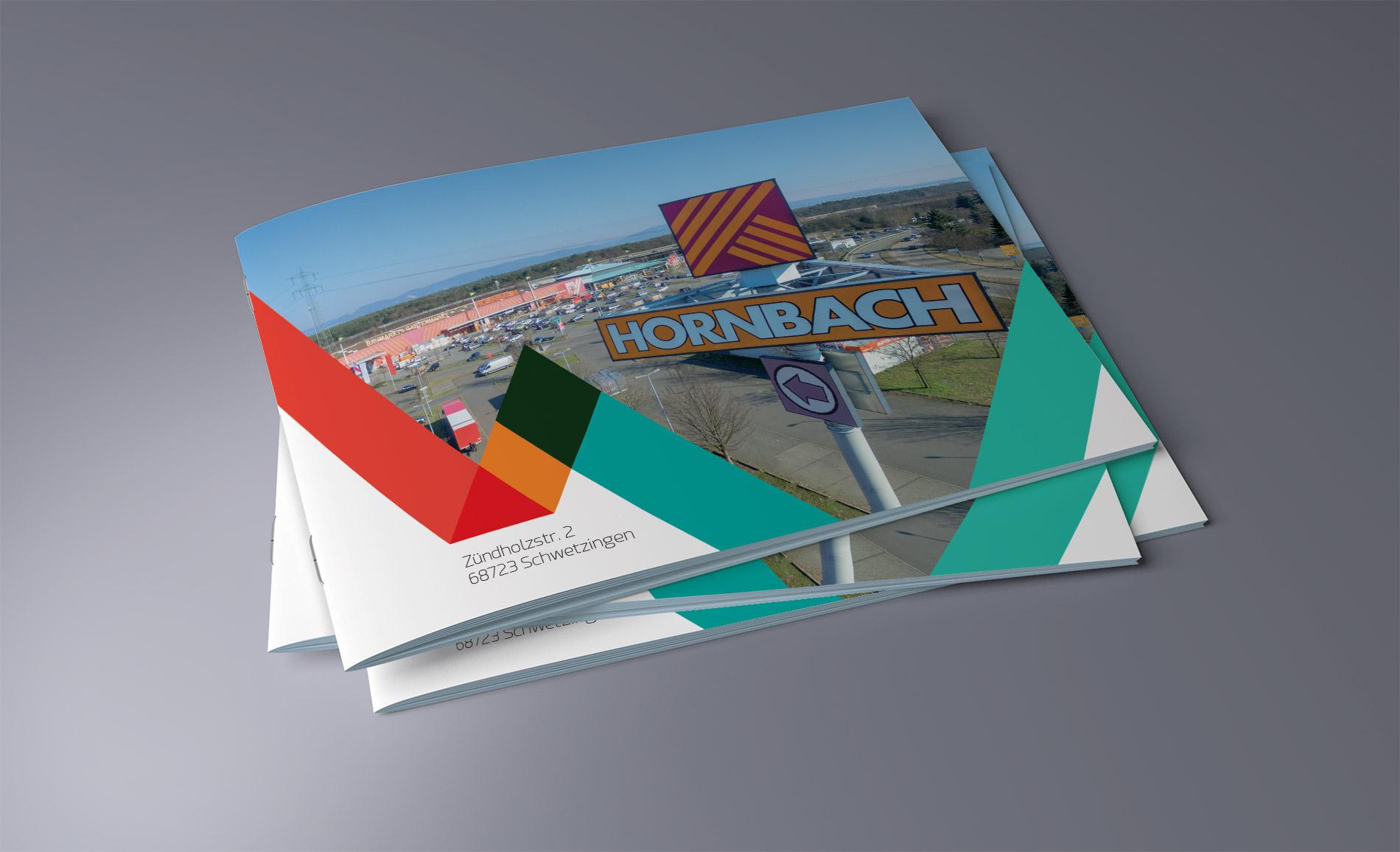Hornbach Broschüre A4 - Grafikdesign/Printdesign